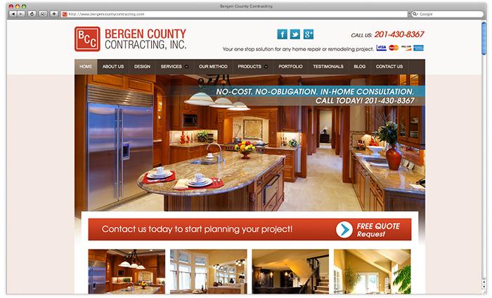 Bergen County Contracting Website - After