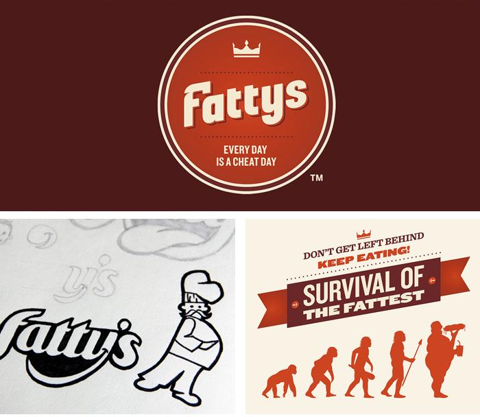Fattys Branding