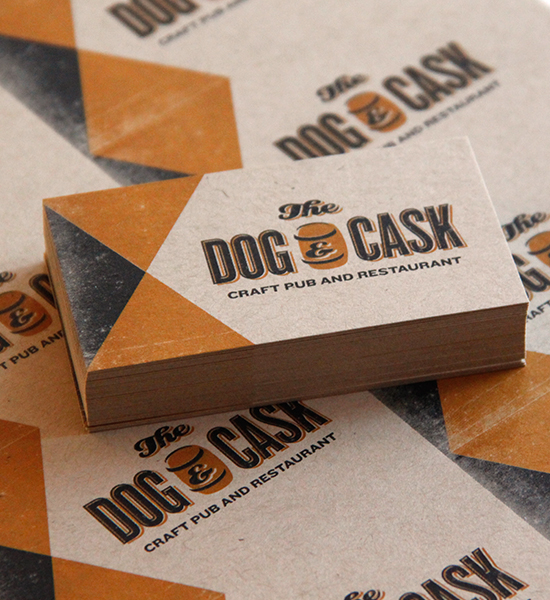 Dog & Cask Business Cards