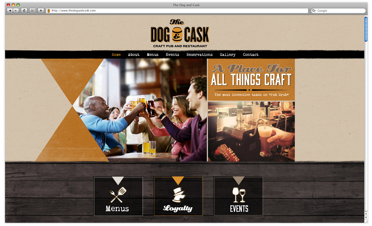 thedogandcask-website