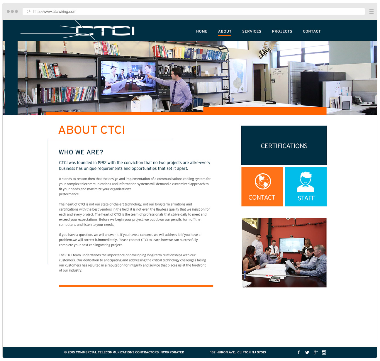 CTCI Wiring Website About
