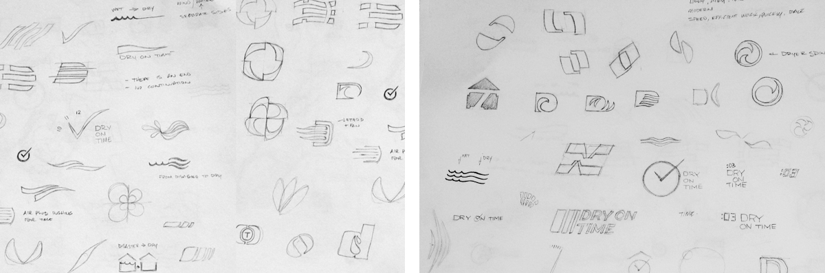 dryontime-logo-sketches2