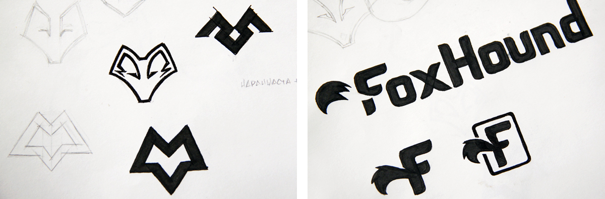 foxhound-logo-sketches1