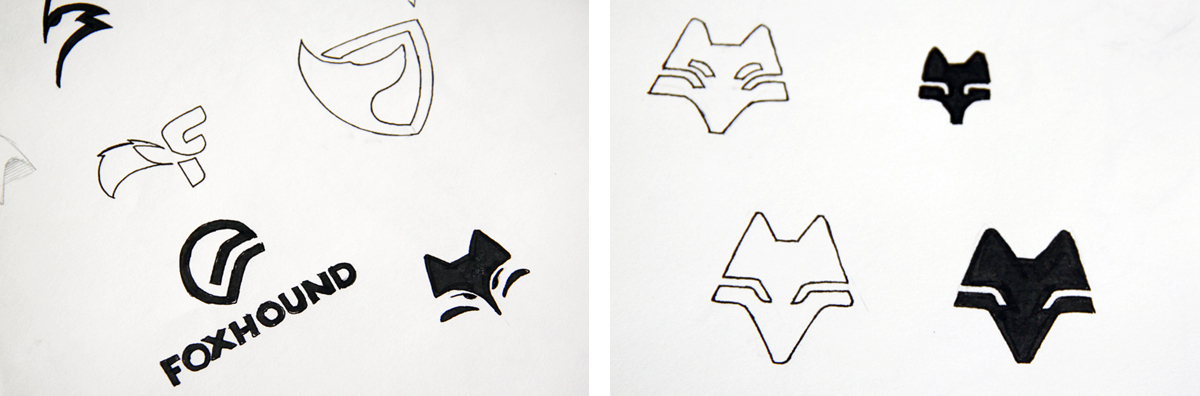 foxhound-logo-sketches2