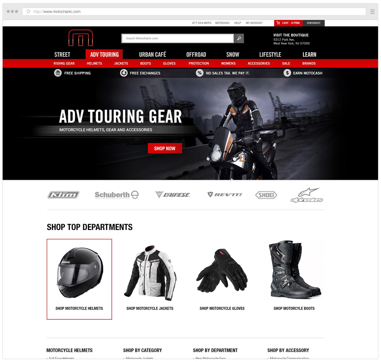 Motochanic Homepage