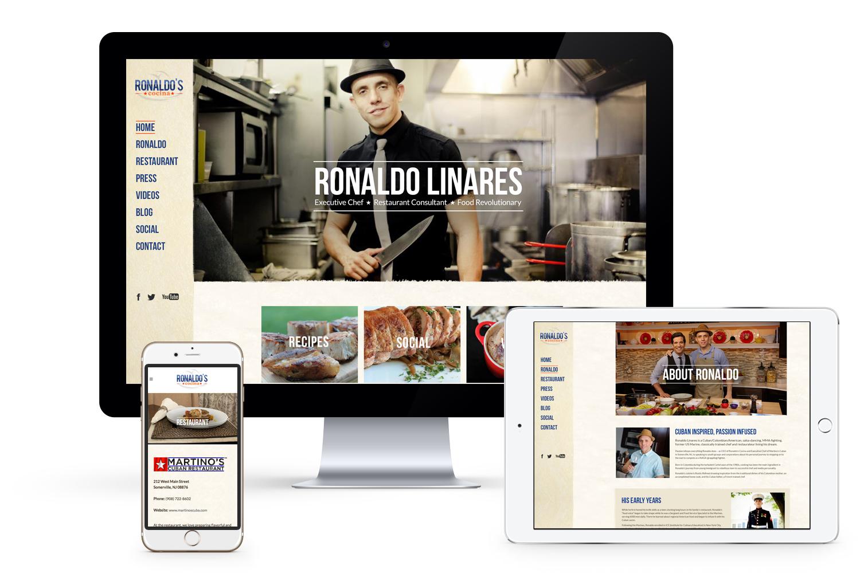 Ronaldo Linares Website Responsive