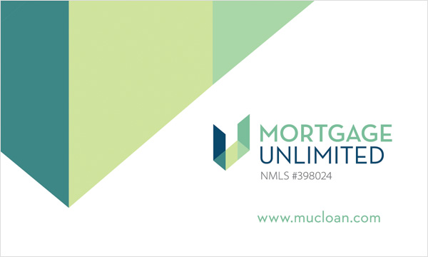 Mortgage Unlimited Business Card Back