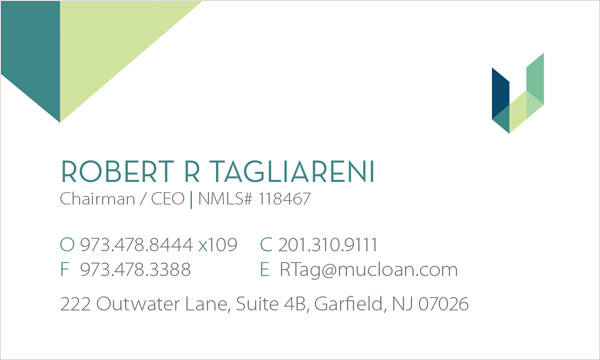 Mortgage Unlimited Business Card Front