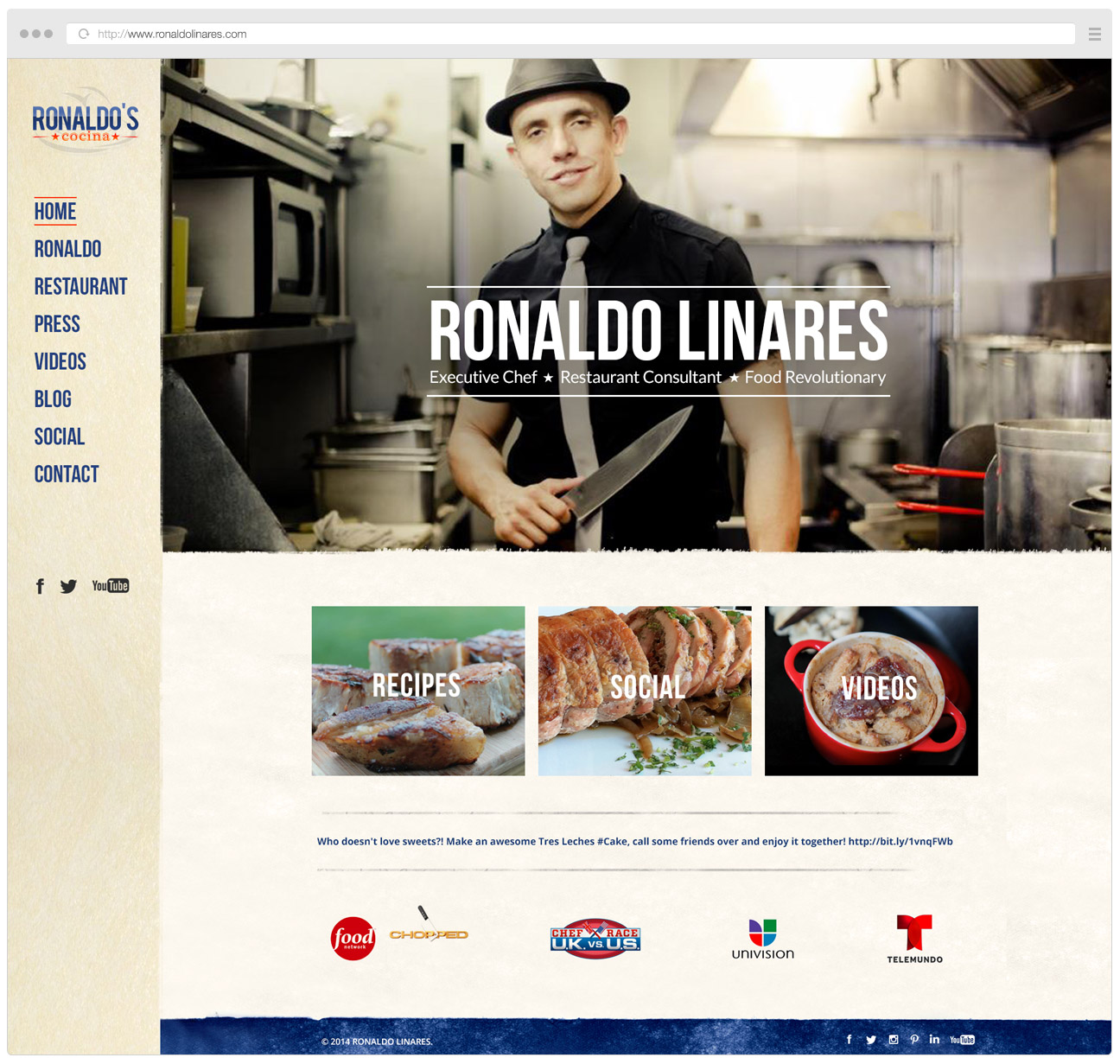 Ronaldo Linares Website