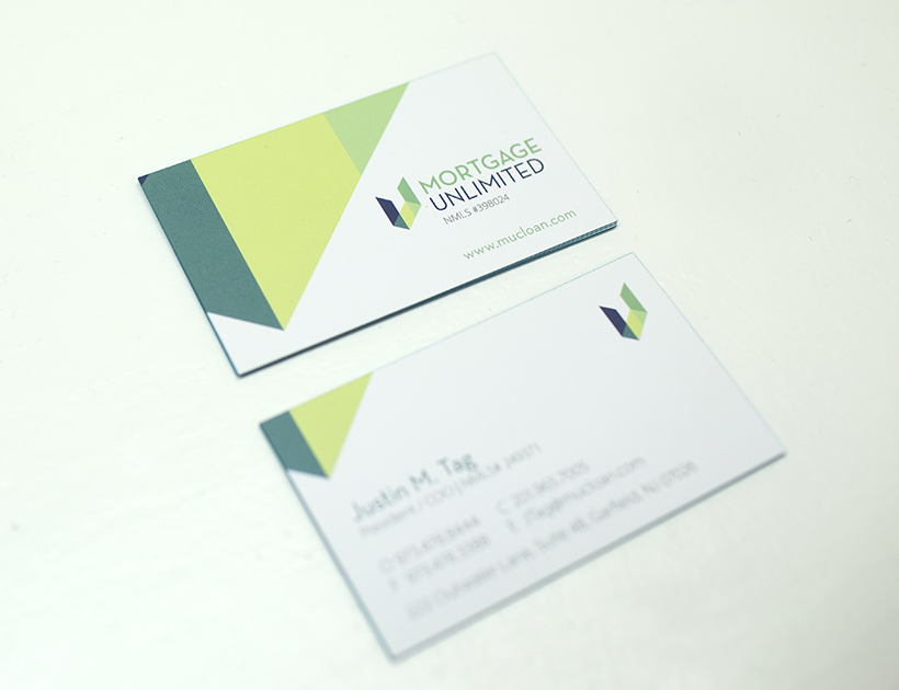 Mortgage Unlimited Business Card