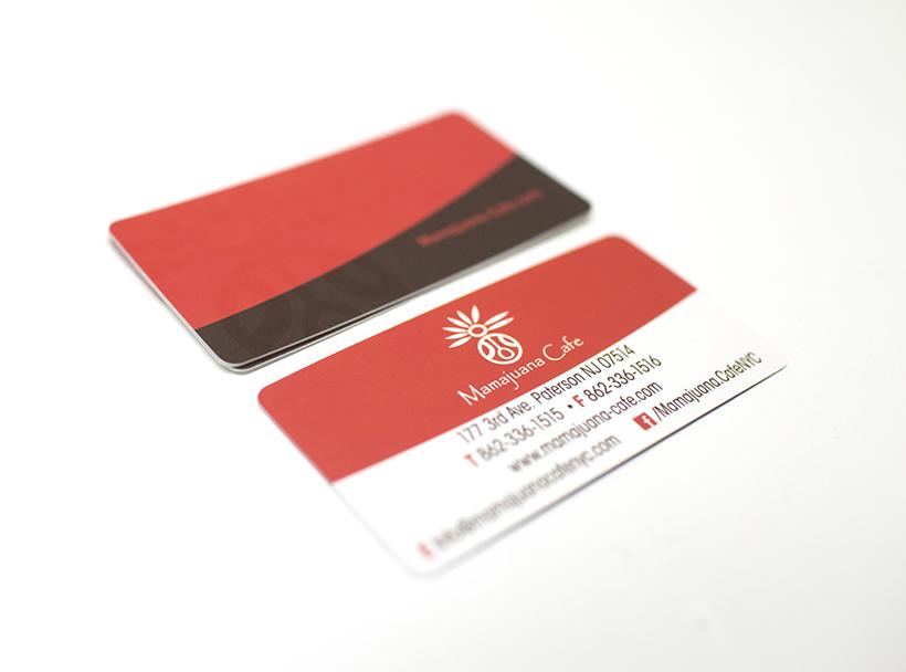Mamajuana Cafe Business Cards