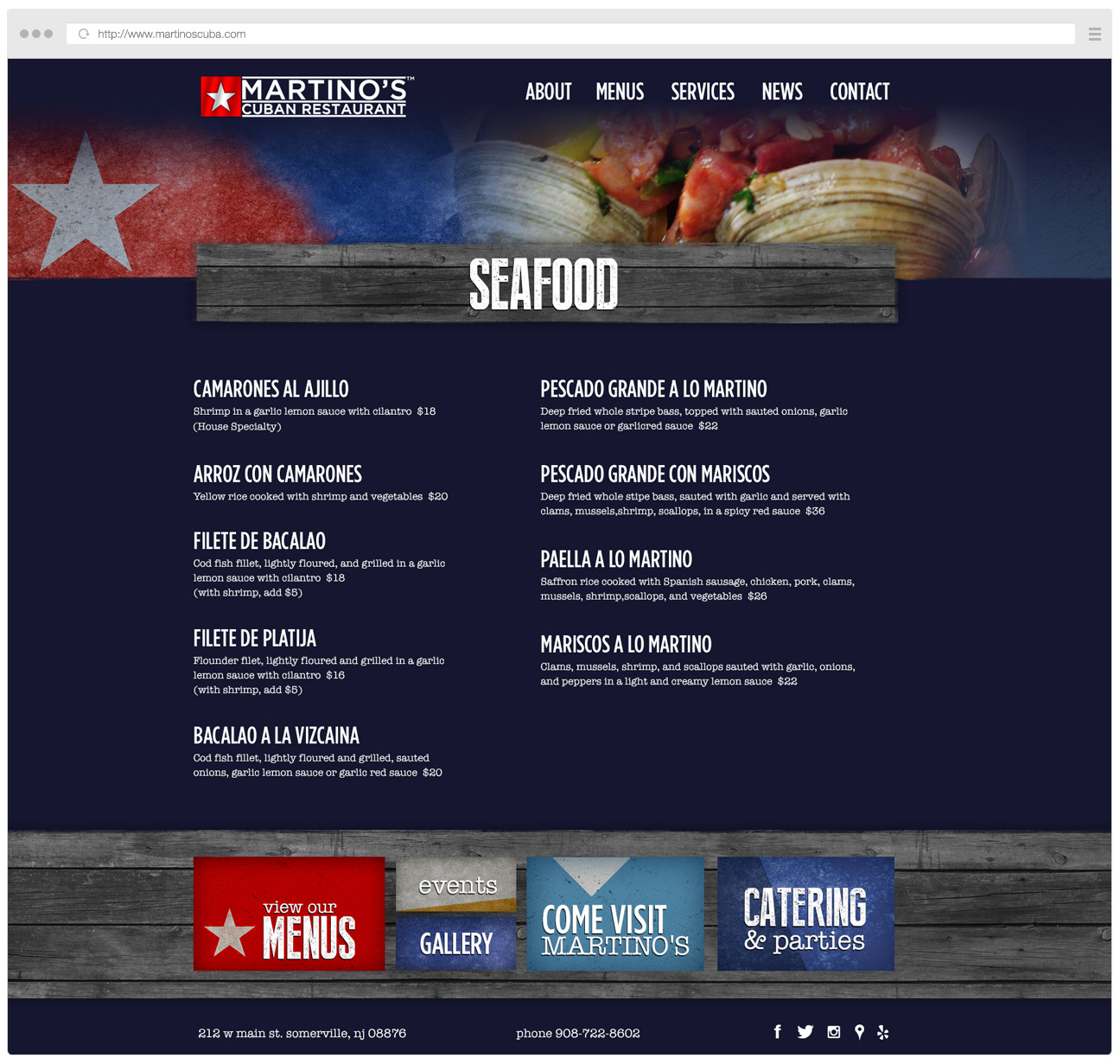 Martino's Cuban Website