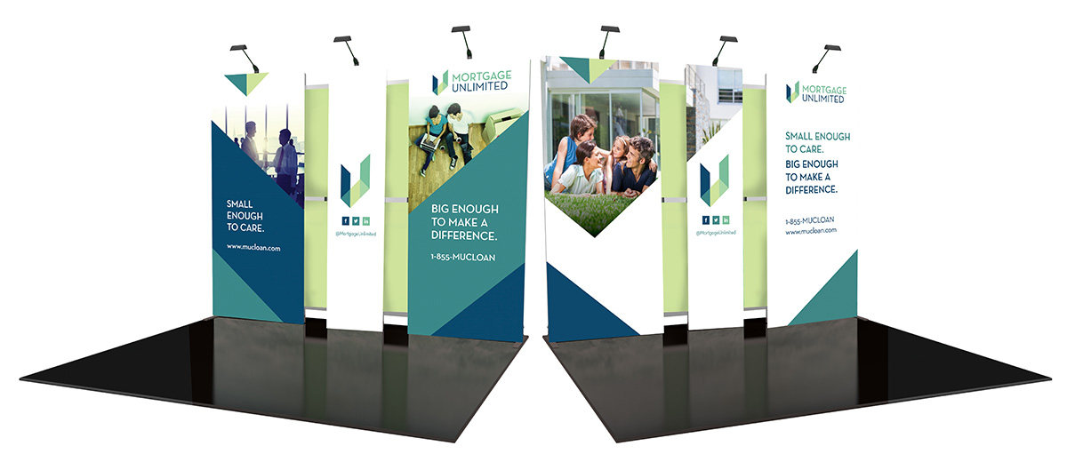 Mortgage Unlimited Trade Show Display