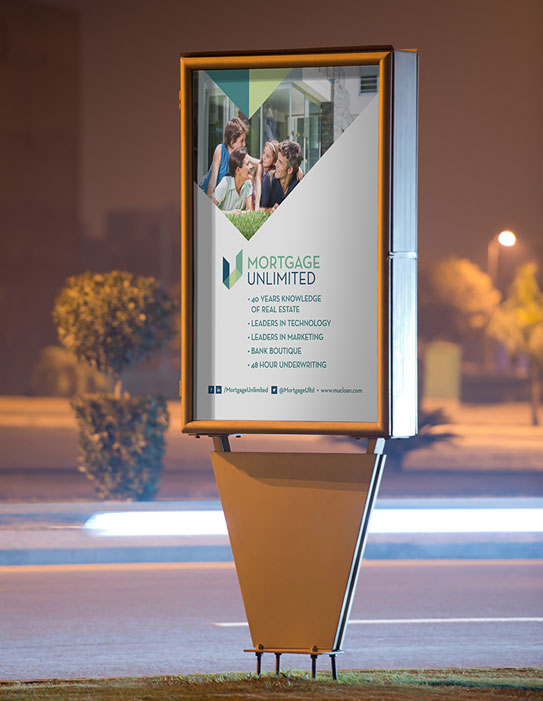 Mortgage Unlimited Outdoor Signage