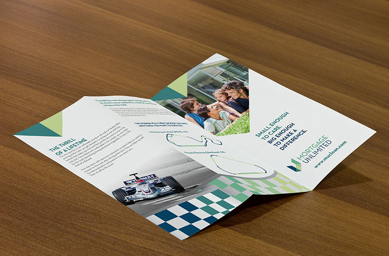Mortgage Unlimited Race Brochure