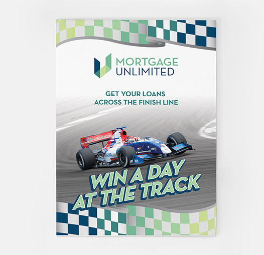 Mortgage Unlimited Race Flyer