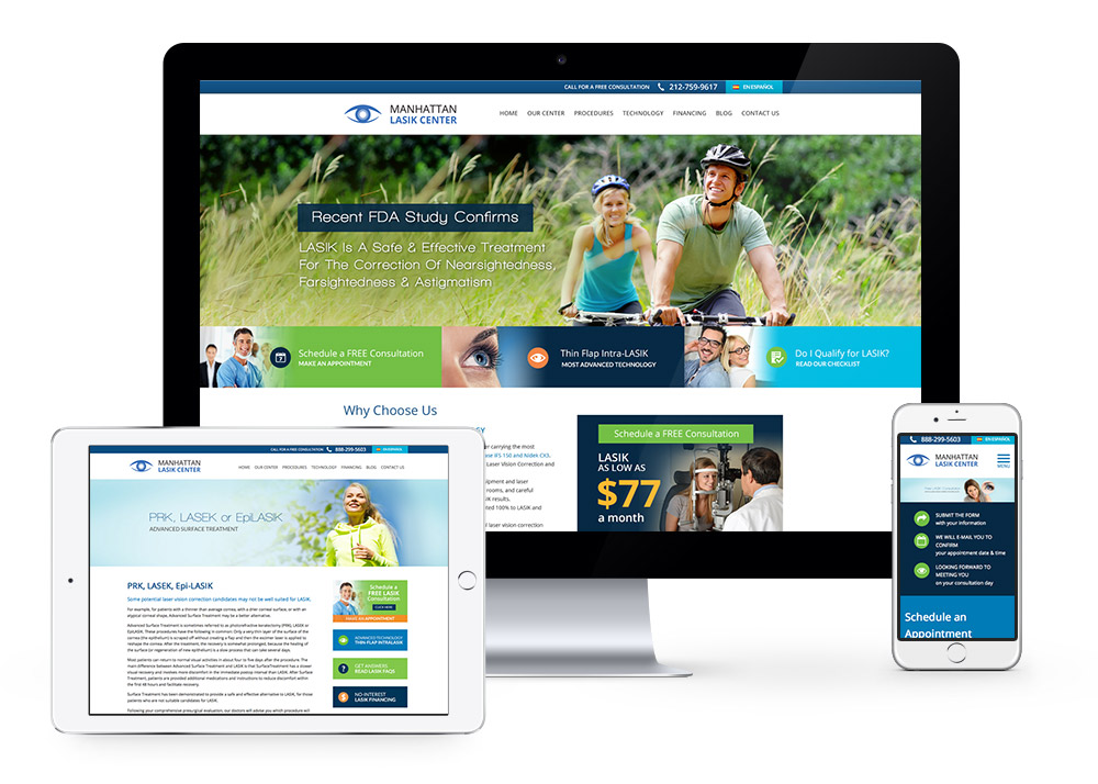 manhattanlasik-website-responsive