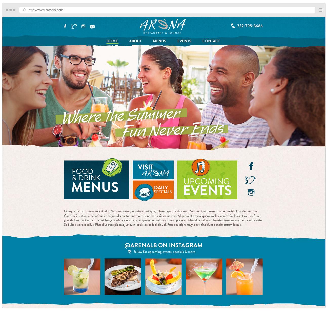 arena-website